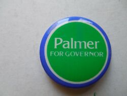 Maine Campaign Pin Back Button Governor Linwood Palmer Local Political Badge