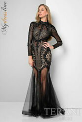 Terani Couture 1712gl3579 Evening Dress Lowest Price Guarantee New Authentic