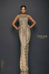 Terani Couture 1911gl9470 Evening Dress Lowest Price Guarantee New Authentic