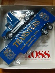 Winross Diecast Trucks Teamsters Local Union 229 Scranton 1990and039s 1st Edition