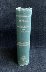Aspects Of Authorship Or, Book Marks And Book Makers By Francis Jacox 1st Ed