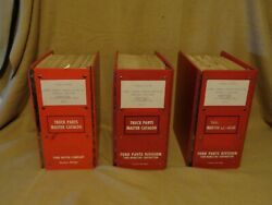 Ford Truck Master Parts 3 Manual Set F100/150/250 1962 1963 1964 1965 To 1972