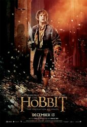 The Hobbit Desolation Of Smaug Poster, 4x6 Feet, Bus Shelter Imax