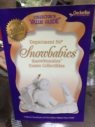 Dept 56 Snowbabies Snowbunnies Easter Collectibles Value Guide Book