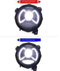 All Led Headlight Assembly Projector Drl 9 2x For Wrangler Jl 2018 2019 2020