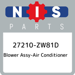 27210-zw81d Nissan Blower Assy-air Conditioner 27210zw81d New Genuine Oem Part