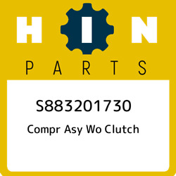 S883201730 Hino Compr Asy Wo Clutch S883201730, New Genuine Oem Part