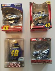 Nascar 48 Jimmie Johnson Christmas Ornaments 2006 2007 2008 2013 New In Package