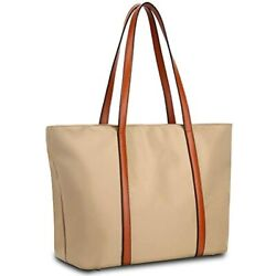 Tote Women Leather Nylon Shoulder Bag Women#x27;s Oxford Large Capacity Work Fit $47.72