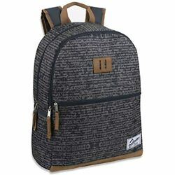 Trailmaker Backpacks Boys And Men With Padded Straps Suede Bottom School $24.40