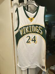 Woodbridge Vikings High School Basketball Jersey Sewn amp; Stitched Sz XXL