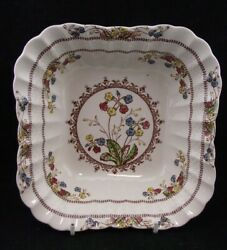 The Best Copeland Spode Cowslip Square Serving Bowl 7 3/4 S713