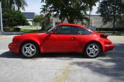 1991 Porsche 911 Turbo 2dr Coupe Performance Auto Wholesalers 911 Turbo 2dr Coupe Guards Red Coupe Miami