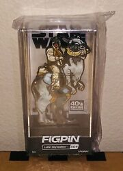 Luke Skywalker Figpin Le1980 Sold Out New In Hand