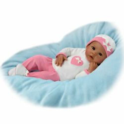 Bradford Exchange Linda Murray Jayla Baby Doll Breathes And Has A Heartbeat