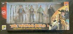 Walking Dead Rick Grimes 15th Anniversary Box Set 4 Figures Skybound Exclusive