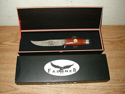 Falkner Wild West Buffalo Bill Collector's Edition Bowie Knife In Case