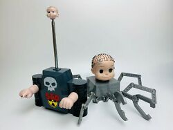 Disney Store Pixar Toy Story Remote Control Babyface Baby Face Figure Sid Spider