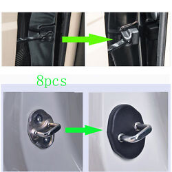 8x For Buick Lacrosse 2005-2019 Black Door-lock Limiting-stopper Protector Cover