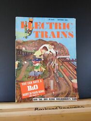 Electric Trains Magazine 1951 Oct Ives Marklin Story Bando Industsrial Site For Yo