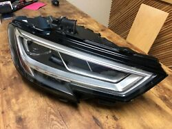 Oem Audi Rs3 Right Passenger Headlight 8v0 941 034 Removed From A 26k Mile Rs3