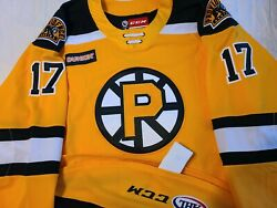Axel 2019-20 Providence Bruins Ahl Hockey Authentic Game Jersey