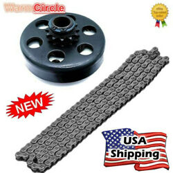 Engine 212cc Centrifugal Clutch 3/4 Bore 12 Tooth+ 35 Chain Kit For Go Kart Us