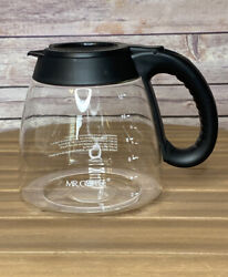 Mr. Coffee Glass Replacement Carafe Pot, Coffee Pot For 12 Cup Coffee Makers.