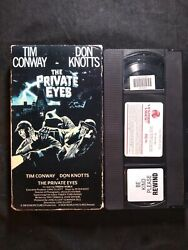 The Private Eyes Vhs Vestron Video Tim Conway Don Knotts Not Video Treasures