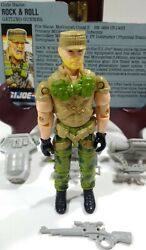 Gi Joe 1989 - Rock And Roll V2 - W/ File Card - Great Condition - Near Complete