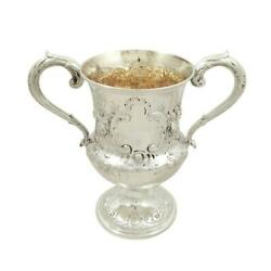Antique Victorian Sterling Silver Trophy Cup - 1860