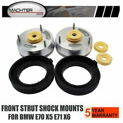 Fit For Bmw X5 X6 E70 E71 Front Strut Shock Mount Mounts Support Lower Lh And Rh
