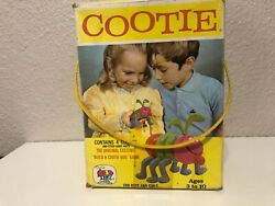 1972 Schaper Build A Cootie Bug Game For Boys And Girls 200b Incomplete