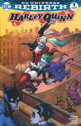Harley Quinn 1 Comic Central Exclusive Color Variant By Chad Hardin Dc Rebirth