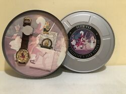 Disney Collectors Club Series Iii Andldquopeter Panandrdquo Le Watch Pin Reel Tin Fossil Htf