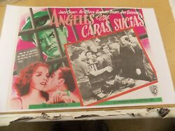 Angels With Dirty Faces1938james Cagney 11by14 Reproduction Of Mexican Lc