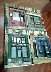 A Set Of Vintage Chiu Tak Hak French Store Front Wall Plaques