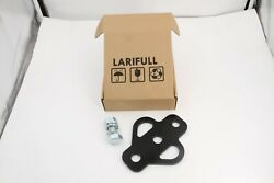 Larifull 3 Way Hitch For Atv Trailer Lawn Mower Golf Cart Tractor Flat Tow Ball