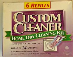 Custom Cleaner Home Dry Cleaning Kit Fabric Care For Dry Cleaning 16 Garments