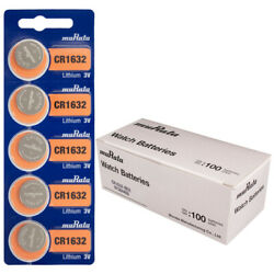 Murata CR1632 3V Lithium Coin Cell BULK (500 Batteries) - Replaces Sony CR1632 $281.50