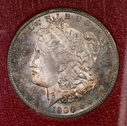 1900-s Morgan 1 From Redfield Silver Dollar Collection Hoard
