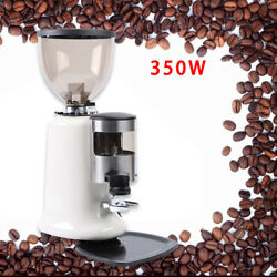 Home Commercial Espresso Coffee Grinder Burr Mill Machine Electric Grind 1200g