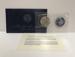 1974 S Eisenhower Uncirculated Silver Dollar, 40 Silver Coin