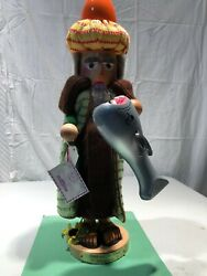 Steinbach Nutcracker Jonah And The Whale Es1812 Limited Edition-signed