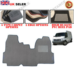Carpet Floor Mats Front Tailored With Logo 2006 - 2014 For Ford Transit Mk7