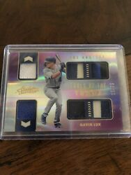 Gavin Lux Rc - 2020 Absolute Tools Of The Trade 6 Patch Multicolor 15/25 Dodgers