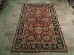 Chobi Antique Reproduction Rug 5and039 X 8and039 Organic Dyed Hand Knotted B-74069