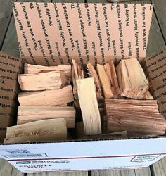 Pecan Wood Chunks For Smoking, Bbq And Grilling - Free Priority Shipping