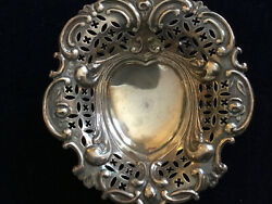 Antique Silverplate Candy Dish