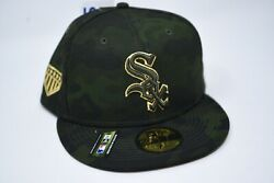 Chicago White Sox New Era Camo Armed Forces Day 59fifty Fitted Cap 7 7/8